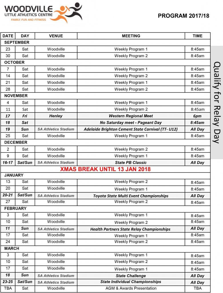 venue program 2017.18